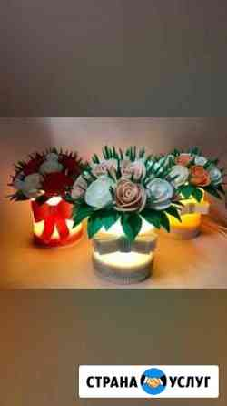 Большие цветы,ростовые цветы,цветы-светильники Ялта