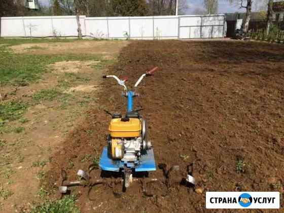 Вспашу огород мотоблоком, спил опиловка деревьев Донецк