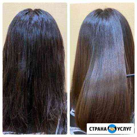 Ботокс для волос возможен выезд на дом Красноярск