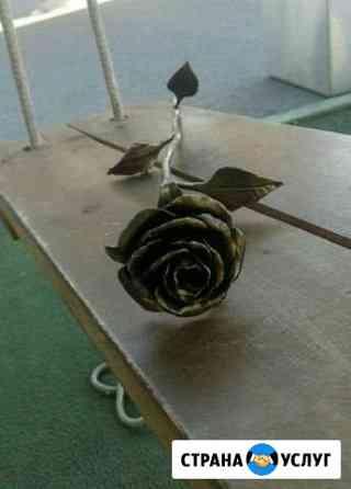 Кованые розы на заказ Новосибирск