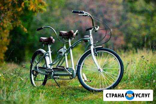 Велосипед-тандем, аренда Челябинск