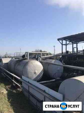 Мазутное хранилище, смешивание, удаление воды Тимашевск