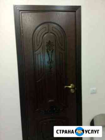 Установка дверей арок Тюмень