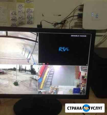 Установка систем видеонаблюдения Волжский