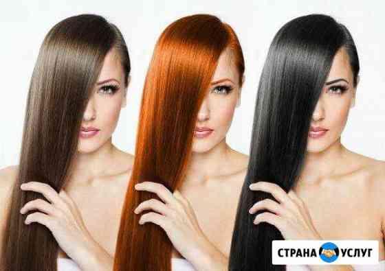 Кератиновое выпрямление и ботокс волос Волжский