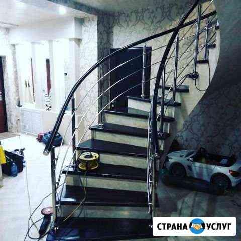 Перила из нержавеющей стали Волгодонск