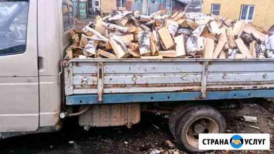 Дрова берёзовые 3 куба Челябинск