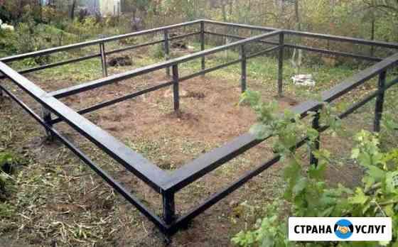 Фундамент на винтовых сваях под ключ Новомосковск