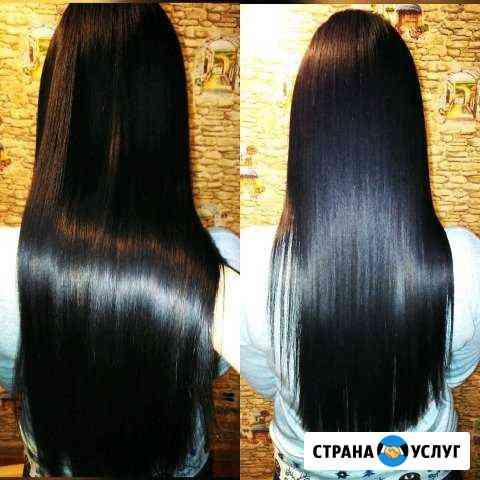 Кератиновое выпрямление волос и Ботокс Калининград