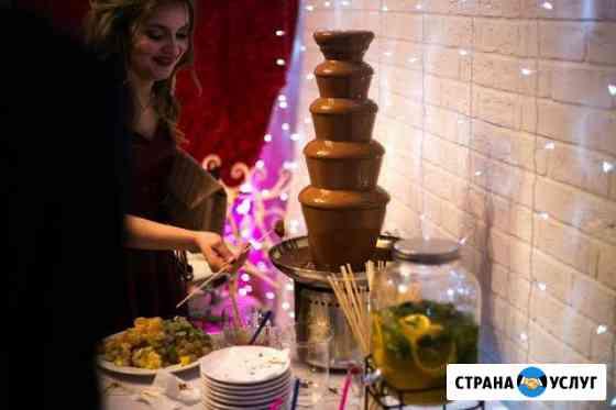 Шоколадный фонтан на мероприятия Санкт-Петербург