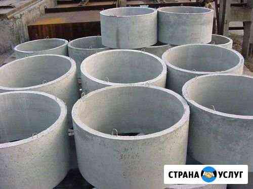 Бетонные кольца Октябрьское