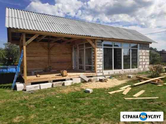 Строительство беседок, дач, навесов, веранд, бань Брянск