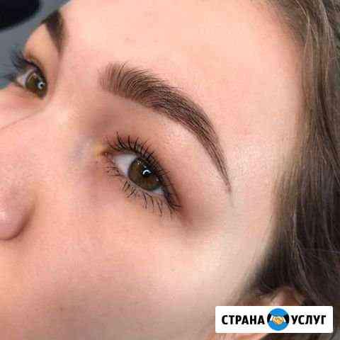 Окрашивание бровей хной Псков
