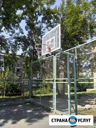 Баскетбольная сетка из цепочки Екатеринбург