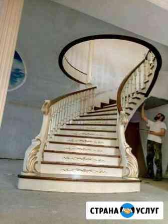 Изготовление и сборка деревянных лестниц Грозный