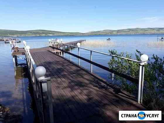 Отдых на озере Большом Шарыпово