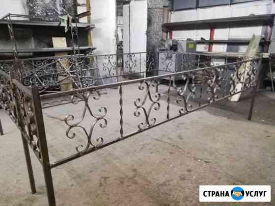 вензель изготовление оград художественная ковка Апатиты