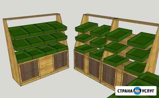 Стеллажи для магазинов и ресторанов Екатеринбург