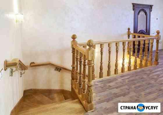 Деревянные лестницы, двери, окна Курск