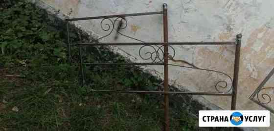 Изготовление оградок на кладбище Богородицк