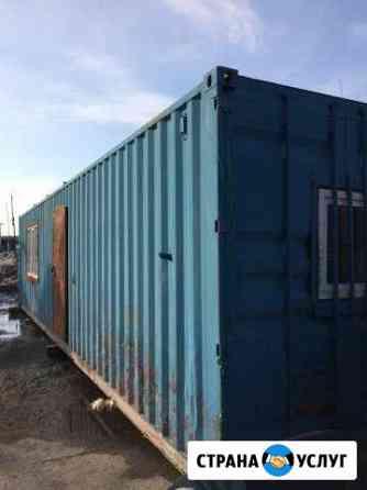 Сдам в аренду контейнер, вагончик, бытовку Новосибирск