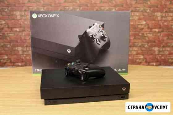 Прокат,аренда приставки X Box One X и PS 4pro Чебоксары