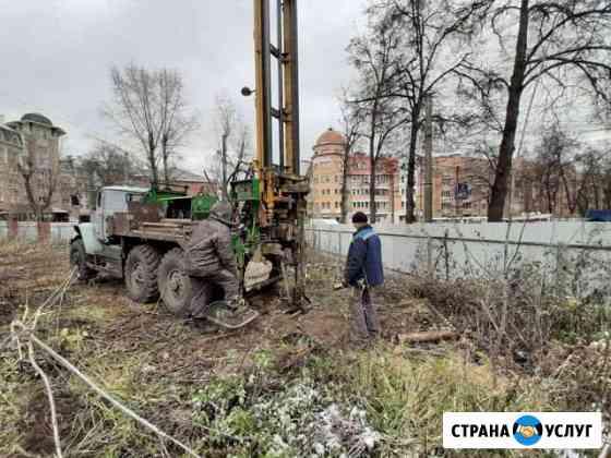 Инженерно-геологические изыскания геология Брянск