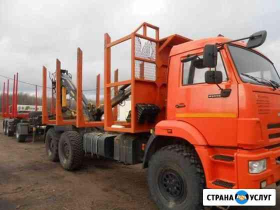 Перевозка леса и древесины Кострома