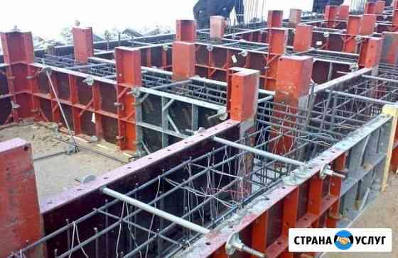 Аренда опалубки для фундамента, мелкощитовая Калининград