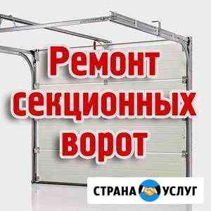 Ворота гаражные, уличные. Ремонт, Сервис, Настройк Красноярск