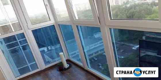 Остеклю балкон Убинское