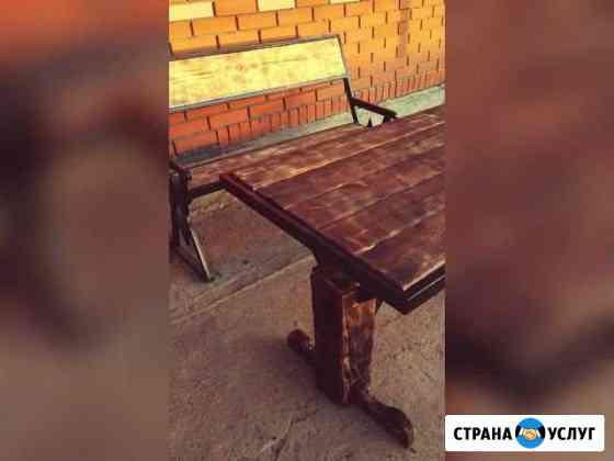 Садовая мебель/металлоконструкции/заборы под заказ Уйское
