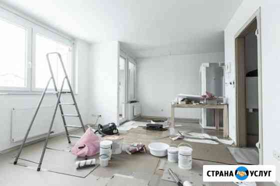 Отделочные работы, ремонт квартир Сатинка