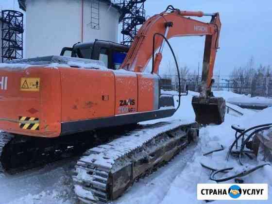 Аренда экскаватора гусеничного Hitachi ZX-200LC -3 Томск