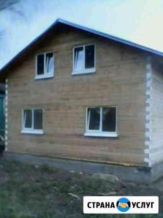 Строительство домов,бань из бруса От фундамента до Чайковский