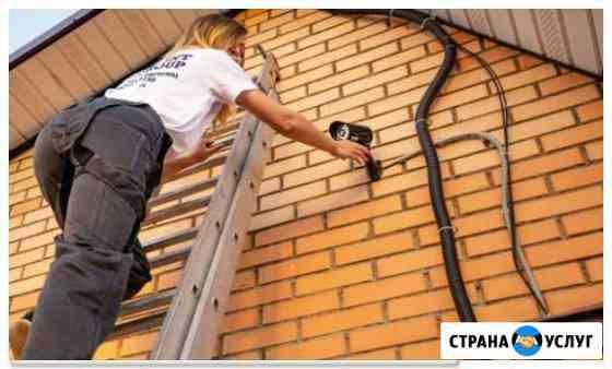 Установка видеонаблюдения под ключ Оренбург