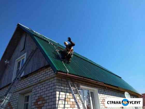 Кровля, кровельные работы, ремонт, профнастил Вологда