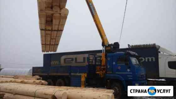 Манипулятор 13 тонн, стрела 7 тонн(20 м) Ижевск