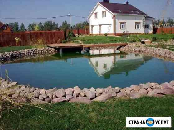 Ландшафтный дизайн,озёра,пруды,водопады Нижний Новгород