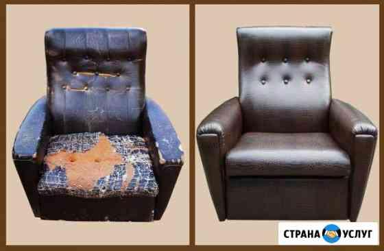 Перетяжка мягкой мебели Березники