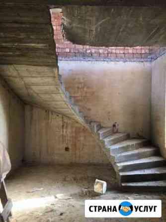 Заливка ж/б лестниц Махачкала