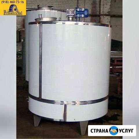 Изготовим любое молочное и емкостное оборудование Краснодар