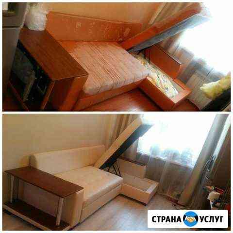 Перетяжка мягкой мебели Петропавловск-Камчатский