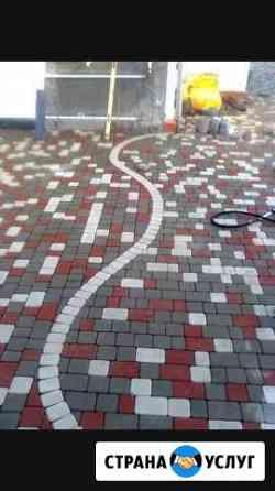 Укладка тротуарной плитки Кизляр