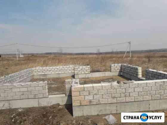 Фундаменты,подъем домов,замена венцов Хабаровск