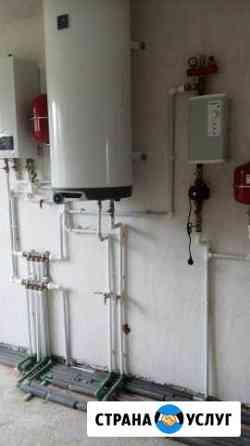Отопление, водоснабжение, теплый пол Калининград
