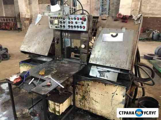 Резка металла ленточнопильным станком до 360 мм Челябинск