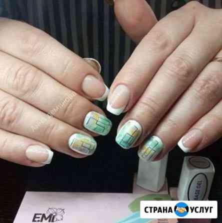 Маникюр, гель лак, наращивание ногтей Мценск