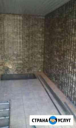 Внутренняя и наружная отделка гаражей,дачи,бани,во Ухта