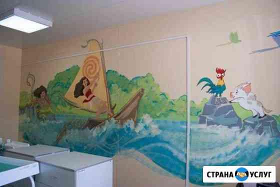 Художественная роспись стен Тольятти